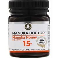 MANUKA DOCTOR HONEY BIO ACTIVE 15 PLUS 45+MGO 250G