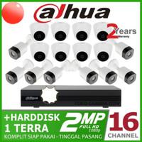 PROMO HARGA PAKET CAMERA DAHUA 16CH+16 CAMERA FULL HD 1080P