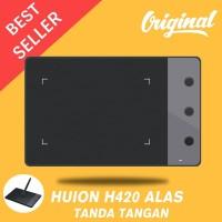 Huion H420 Alas Tanda Tangan USB dengan Pena Penangkap Digital Nirkabe