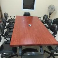 Meja Kantor Rapat /Meeting Plus Kursi