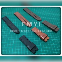 Tali Kulit Jam Tangan - Bison Leather Open loop