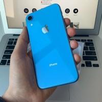 iPhone XR Blue Second Garansi panjang | 64GB 128GB