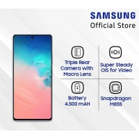 Samsung Galaxy S10 Lite Smartphone [128GB/ 8GB/ Garansi Resmi]