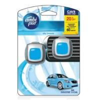 Paling Terlaris Ambipur Mini Clip 2 X 2 Ml Sky Breeze Pengharum Mobil