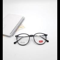 Frame Kacamata Bulat Lentur Levis Xena 126 + Gratis Pasang Lensa Minus