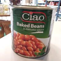 Ciao Baked Beans / Kacang Buncis Panggang 2,7Kg