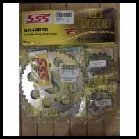 Gear Sss Set 428 Megapro Nmp Verza Cb150 Cbr150 Tiger Size 13T - 16T