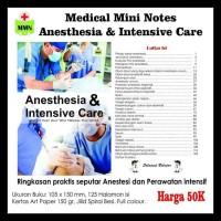 PROMO MEDICAL MINI NOTES - ANESTHESIA AND INTENSIVE CARE TERLARIS