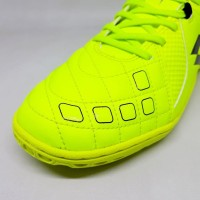 Sepatu Futsal Lotto Squadra IN - Safety Yellow