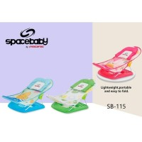 baby bather deluxe spacebaby SB-115 /kursi mandi bayi/alat bantu mandi