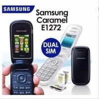 SAMSUNG LIPAT FLIP CARAMEL GT-E1272 SAMSUNG HP MURAH HEADPHONE BARU