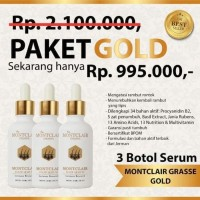 MONTCLAIR HAIR SERUM SERUM PAKET GOLD