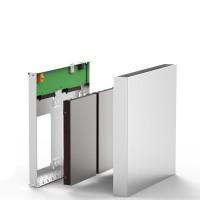 Sos Blueendless Aluminium HDD Enclosure 2.5 Double Disk Array