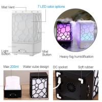 (harga terjangkau) 200ML Lamp Air Humidifier 7 Colorful Night Light