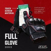 Glove SNAIL Full Jari MG10C Sarung Tangan Motor Panjang Glove Biker
