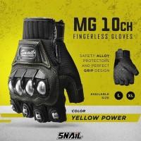 Glove SNAIL Half MG10CH Sarung Tangan Motor Pendek Glove Biker Sarun