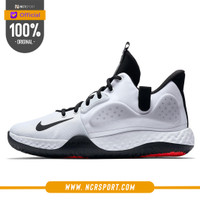 Sepatu Basket Nike KD TREY 5 VII EP White Bright Crimson Original AT11