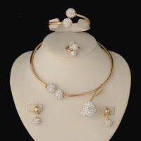 2016 HOT dubai Filled Women Party Jewelry Set Women Wedding