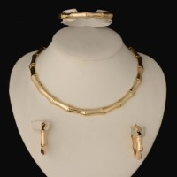 2018 HOT dubai Filled Women Party Jewelry Set Women Wedding Necklace