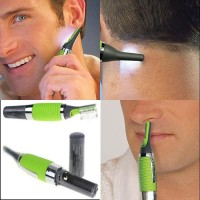 Micro Touch Max Pencukur Rambut Hijau Alat cukur rambut elektrik