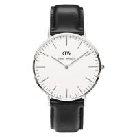 Daniel Wellington Classic Sheffield DW00100020 White Dial Black
