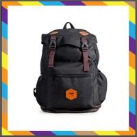 ransel laptop - Tas Black Navy Denver Wanita Ransel Pria Backpack Arci