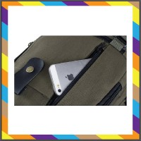 tas laptop Tas Ransel Pria Casual Kanvas TR205 Punggung Pabrik Murah T