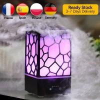 (PROMO) 200ML Lamp Air Humidifier 7 Colorful Night Light Aroma