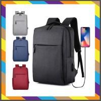 tas pria Korean Backpack BP34 Casual Ransel Laptop Tas Lifestyle