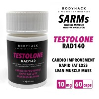TESTOLONE RAD140 10MG BODYHACK SARMS SARM