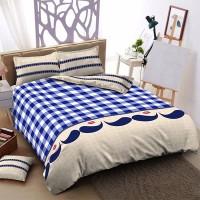 Bed Cover Kintakun Dluxe - MUSTACHE - 180x200 (King)