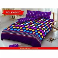 Bed Cover Kintakun Dluxe - POLKADOT - 180x200 (King)