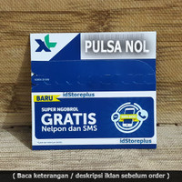 Grosir Kartu Perdana Pro XL Axiata Pulsa 0 K Super Murah - HOT DEALS