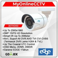 Kamera CCTV Outdoor Edge 5MP UHD 4in1 Suport All DVR
