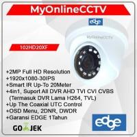 Paket Kamera CCTV Indoor Asli 2MP Setara Hikvision Avtech