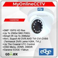Paket Kamera CCTV Indoor Edge 5MP UHD DVR 4K 4in1 Setara Hikvision