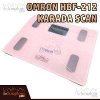 Omron Karada Scan HBF 212 Body Composition Monitor Timbangan HBF212 - Packing Plastik