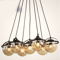 Lampu gantung hias dekorasi BALL INDUSTRIAL SERIES OXIV pendant light