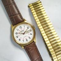 ORIGINAL NOS SEIKO RAILROAD quartz jam tangan pria asli Jepang antik