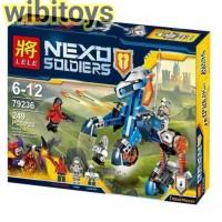 lele 79236 Lego Nexo knights Lance's Mecha Horse