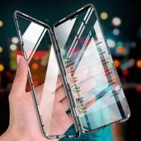 Oppo F9 / F9 pro Case Magnet Magnetic Duoble Glass