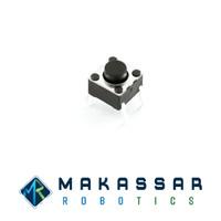 Push Button Tactile Switch Micro Switch DIP 4 Kaki 6x6x5mm