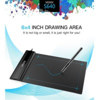 VEIKK S640 Graphics Drawing Tablet OSU 6X4 Inch with free Pen Digital