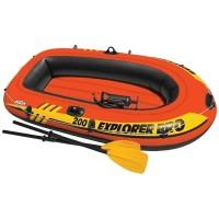 Perahu Karet Explorer 200set bonus Pompa Dan Dayung Play Series 58331