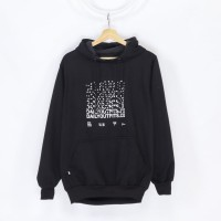 Daily Outfits Hoodie Jumper Feel Lost Black Unisex Premium Quality - M