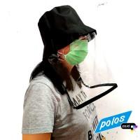 Topi Anti Ciprat Corona / Topi Pelindung Wajah - Model Fixed