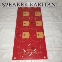 Papan PCB power bank/Power suply simetris 6elko