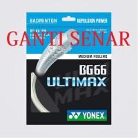 GANTI SENAR YONEX BG 6 KE BG 66 ULTIMAX SP ORIGINAL