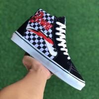 Sepatu Vans SK8 HI x David Bowie Checkerboard BNIB Original Premium