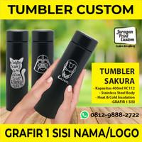 Tumbler Sakura Termos Custom Cetak Grafir 1sisi HC112 Souvenir Botol